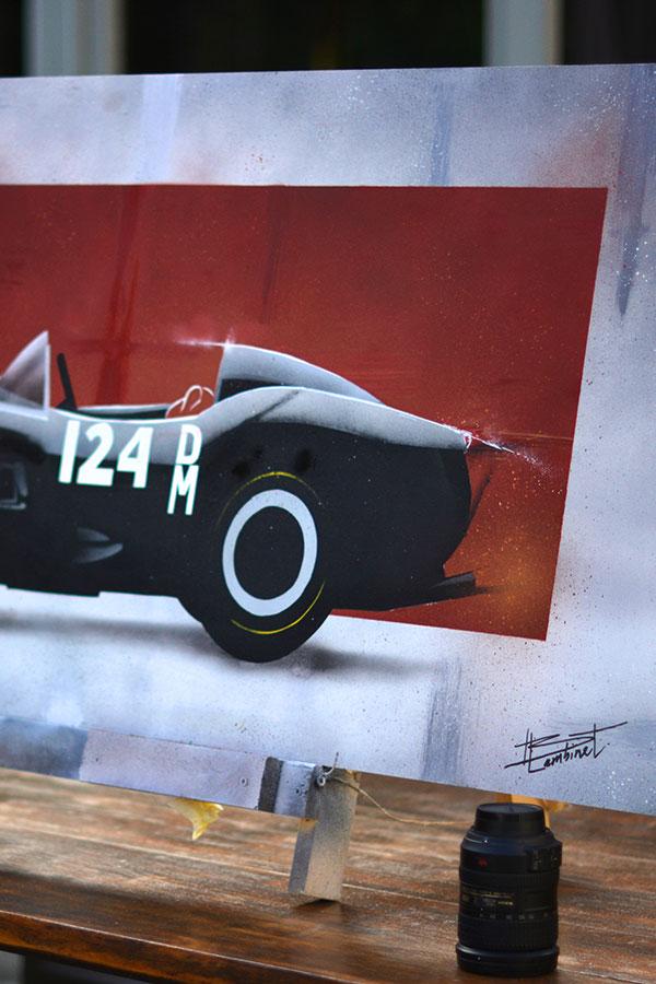 Peinture Ferrari 250 Testa Rossa - 1