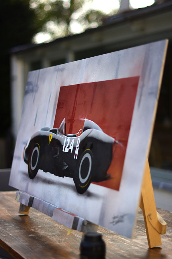 Peinture Ferrari 250 Testa Rossa - 2