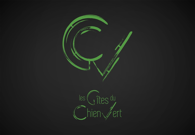 Les Gites du Chien Vert - Logo