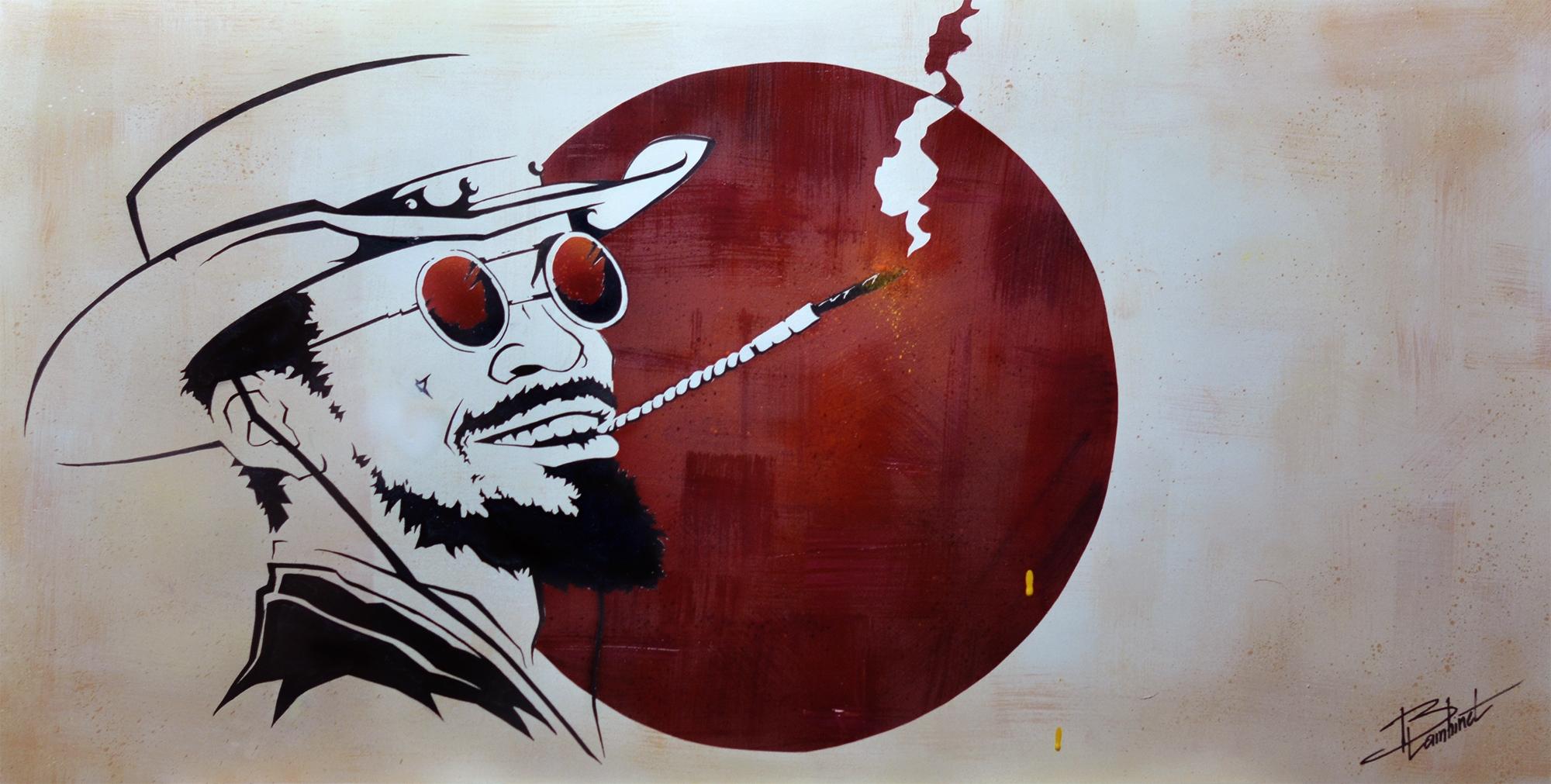 Peinture Django Unchained - complète
