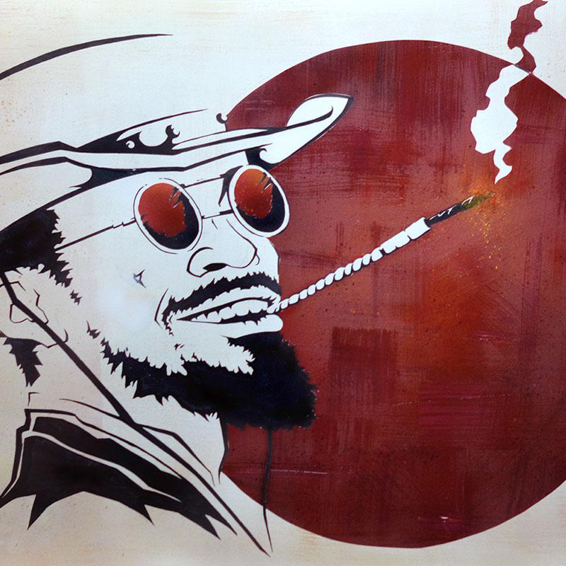 Peinture Django Unchained - apercu