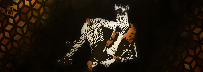 Peinture Fashion Zebra - complète