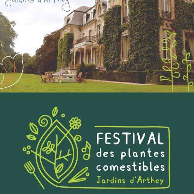 Dépliant du Festival des Plantes Comestibles - apercu