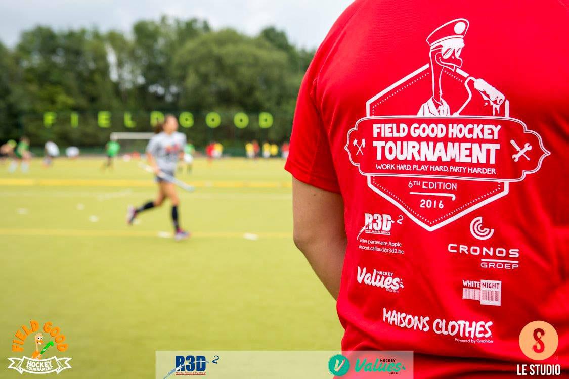 Field Good Hockey Tournament - t-shirt