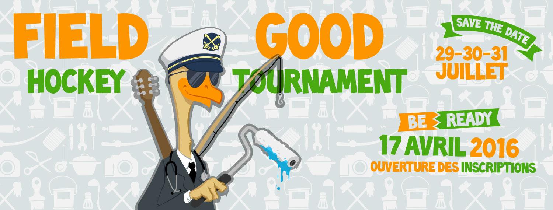 Field Good Hockey Tournament - bannière facebook 2016