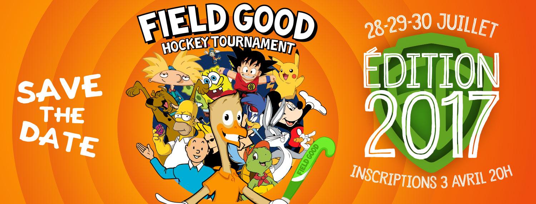 Field Good Hockey Tournament - bannière facebook 2017