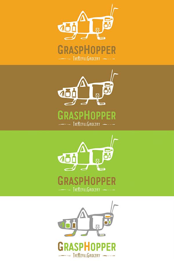 Grasphopper - logos