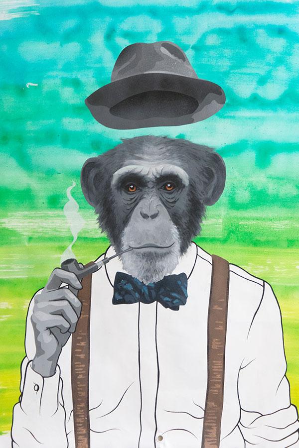 Peinture Monkey Dandy - 1