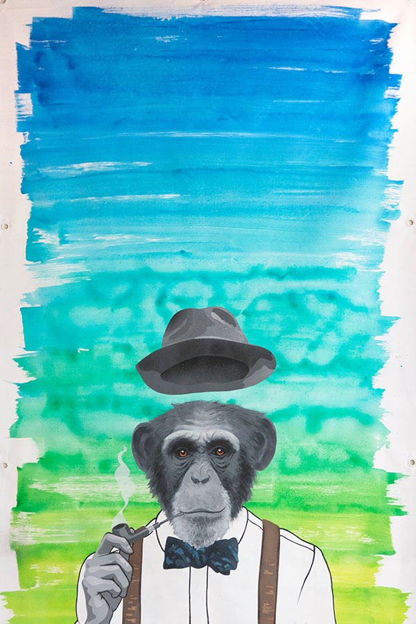 Peinture Monkey Dandy - 2