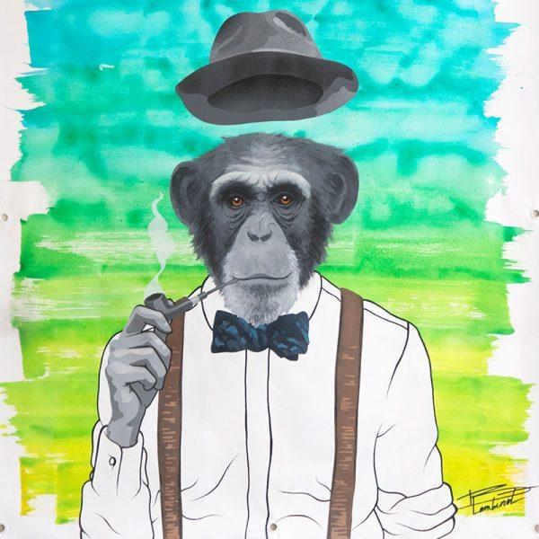 Peinture Monkey Dandy - apercu