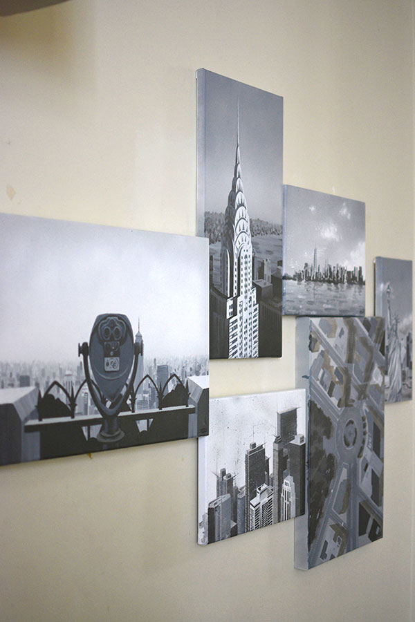 Peinture New York City - 1