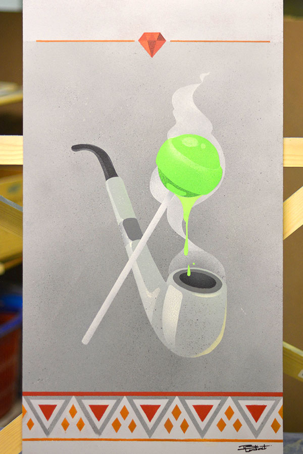 Peinture Papy's Candy - 1