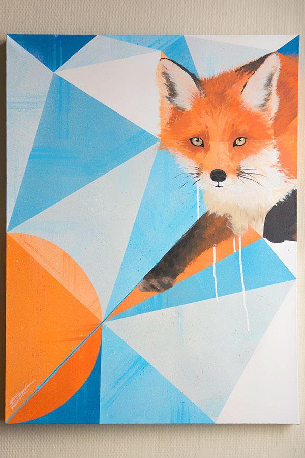 Peinture Red Fox-1