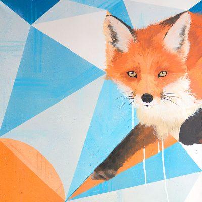 Peinture Red Fox aperçu
