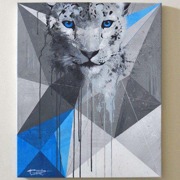 Peinture Snow Leopard apercu