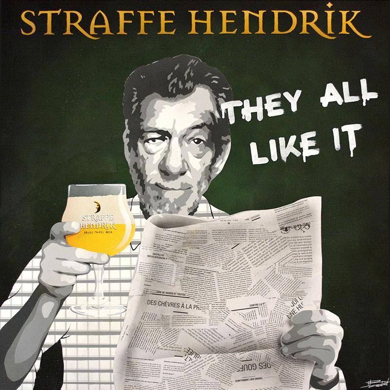 Peinture Straffe Hendrik - apercu