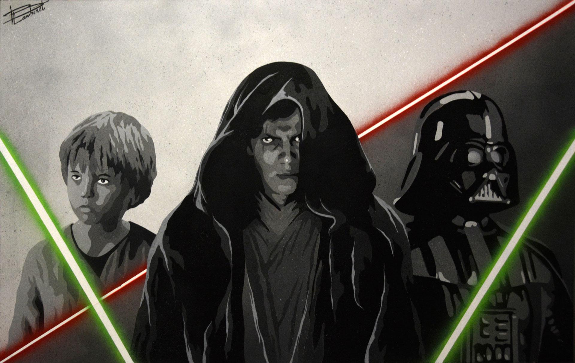 Peinture de Star Wars complète
