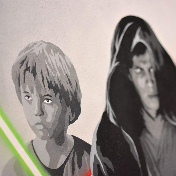 Peinture de Star Wars - apercu