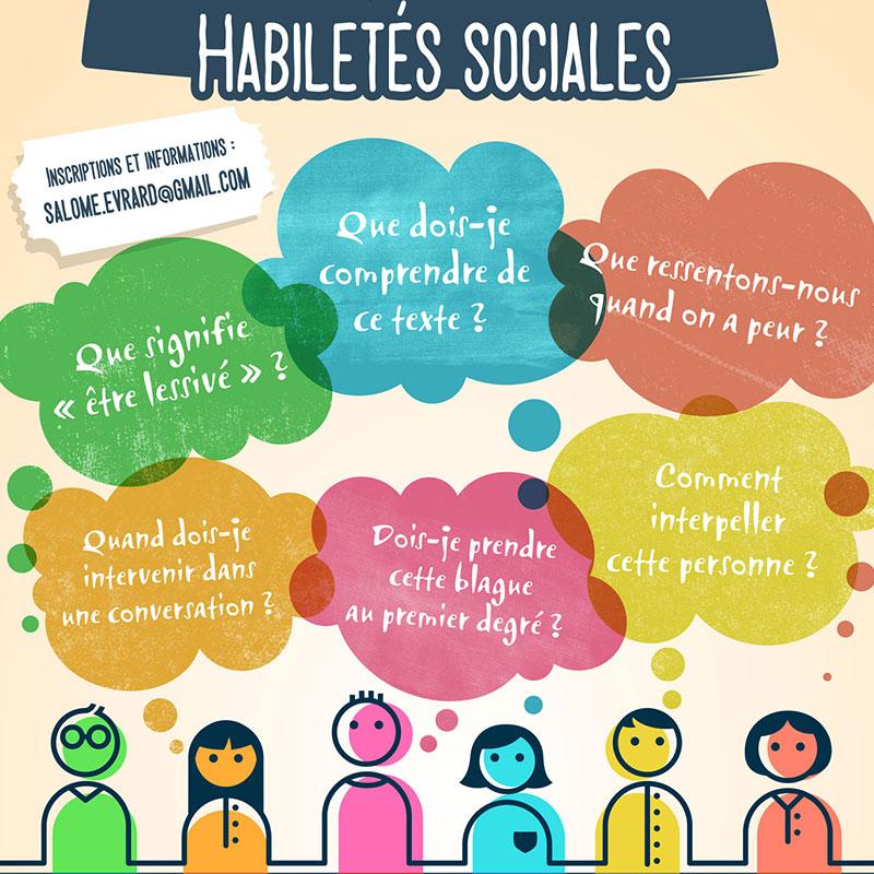 Affiche pour un atelier social