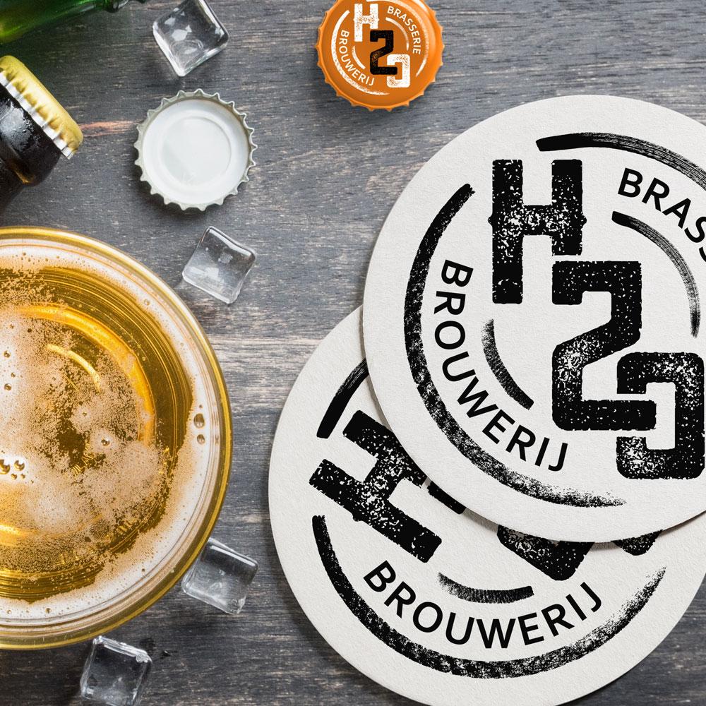 BL-Graphics - Brasserie H2O - logo