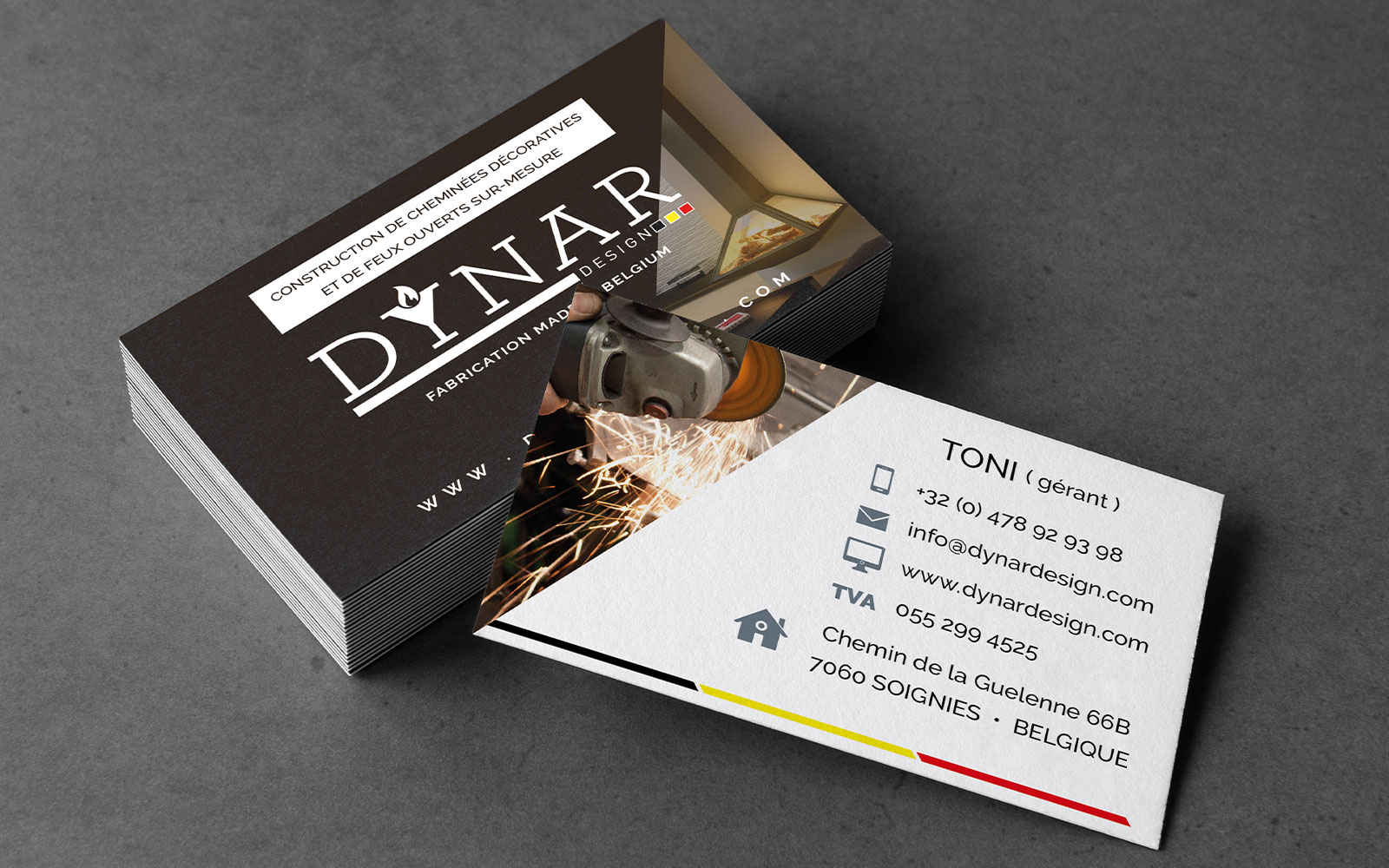 BL-Graphics - Dynar Design - carte de visite