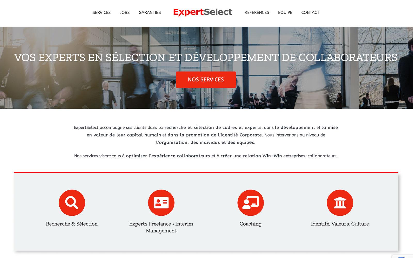 BL-Graphics - ExpertSelect - site web