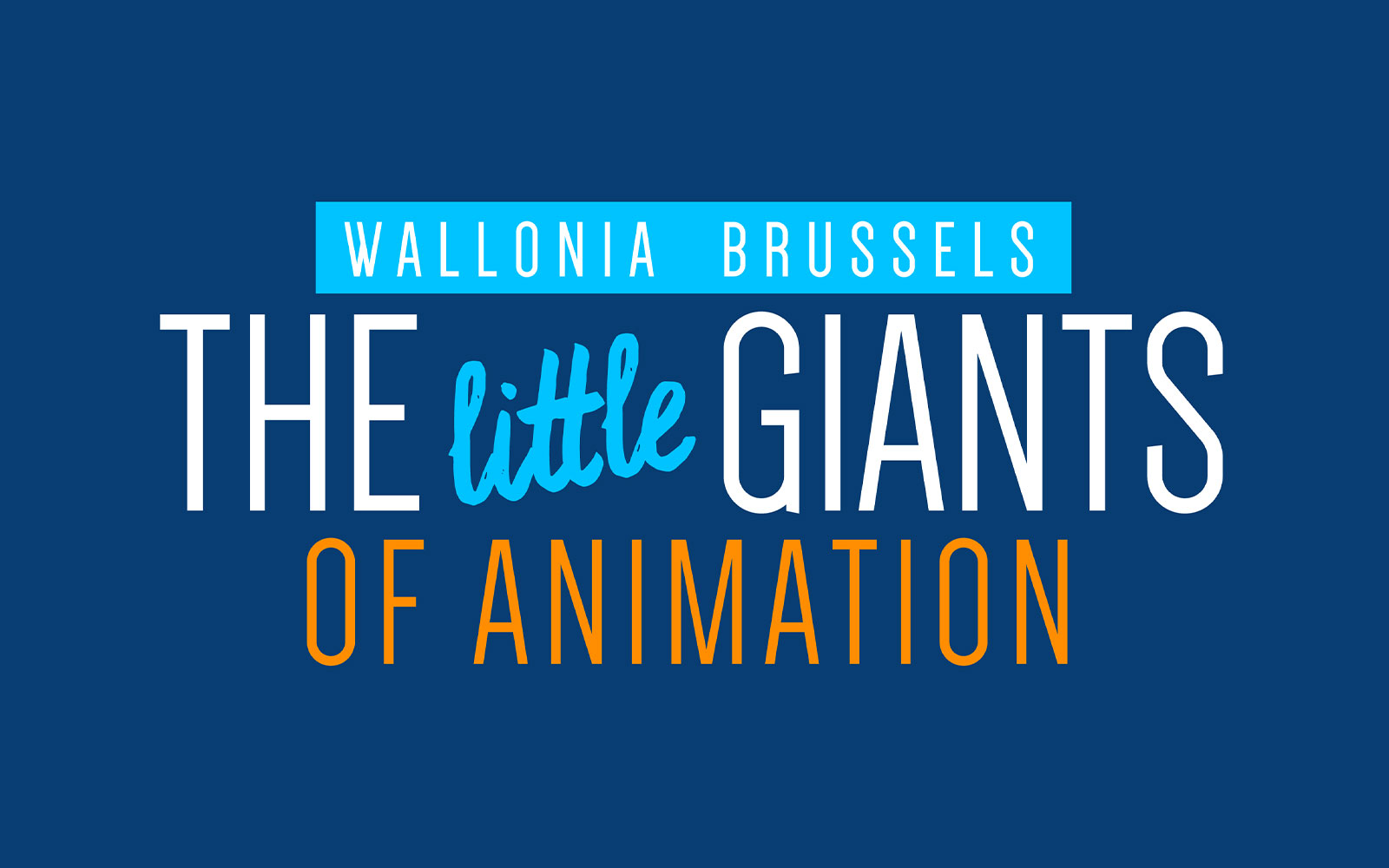 BL-Graphics - The little Giants - Fédération Wallonie Bruxelles - logo