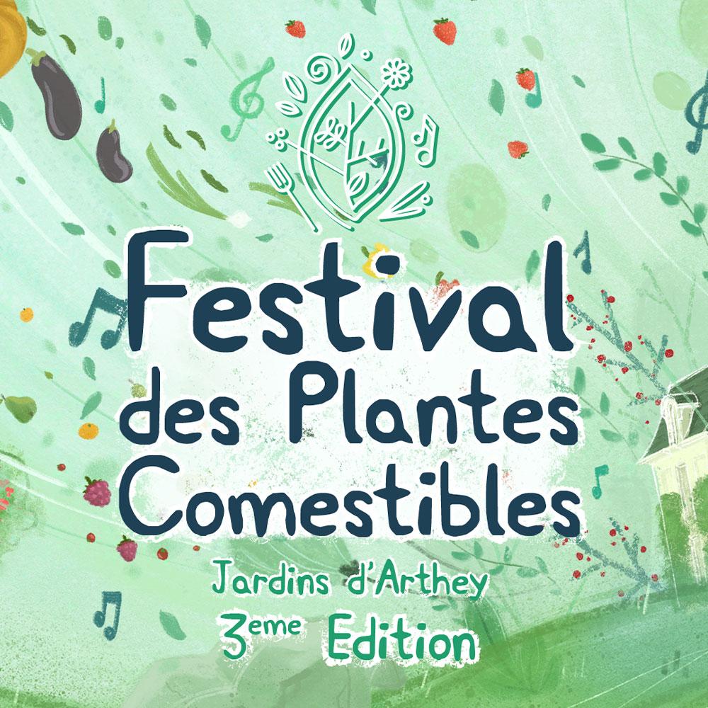 BL-Graphics - Festival des Plantes Comestibles 2019
