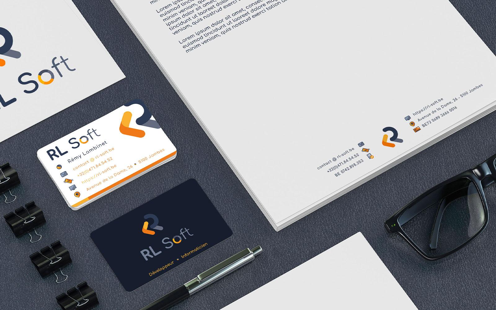 BL-Graphics - RL-Soft - identité visuelle